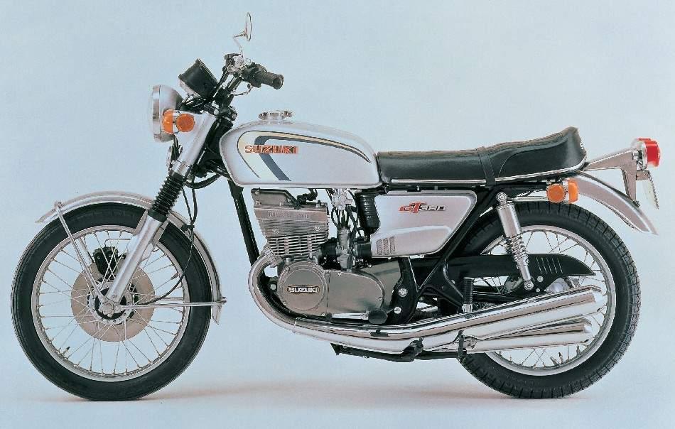 Suzuki GT 380L technical specifications